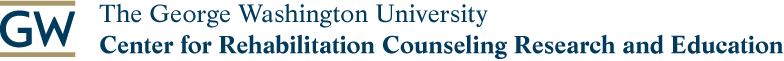 The George Washington University Center for Rehabilitation Counseling Research and Education