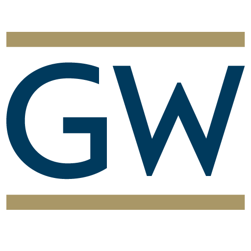 GW - George Washington University Logo Icon