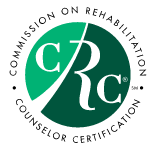 Logo for the Commission on Rehabilitation Counselor Certification